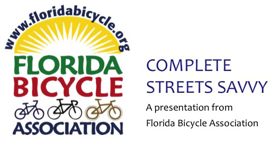 Complete Streets Savvy